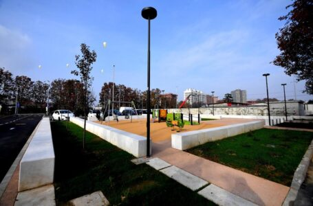Un'area giochi inclusiva col nuovo McDonald's