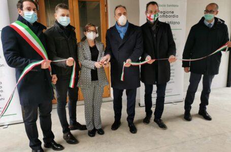 Il Bassini inaugura i nuovi uffici. Presente (e sorridente) Giulio Gallera