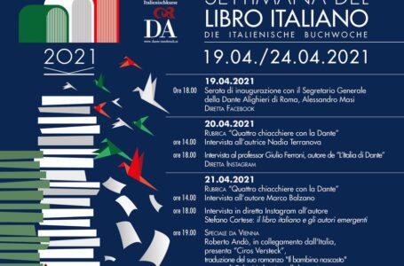 """Cultura, al via """"La Settimana del Libro Italiano"""" di Innsbruck"""