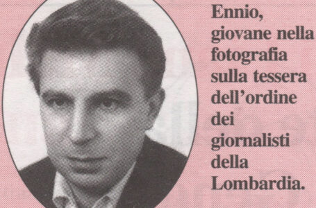 Ennio Elena, il ricordo di un grande giornalista. Lavorò a l'Unità e fu direttore de La Città