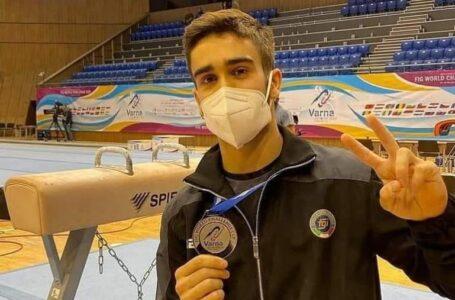 Ginnastica, il cinisellese De Rosa conquista l'argento in Bulgaria