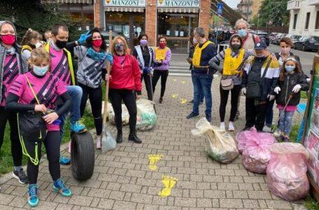Legambiente raccoglie 60 sacchi di spazzatura. Allarme sporcizia a Cormano