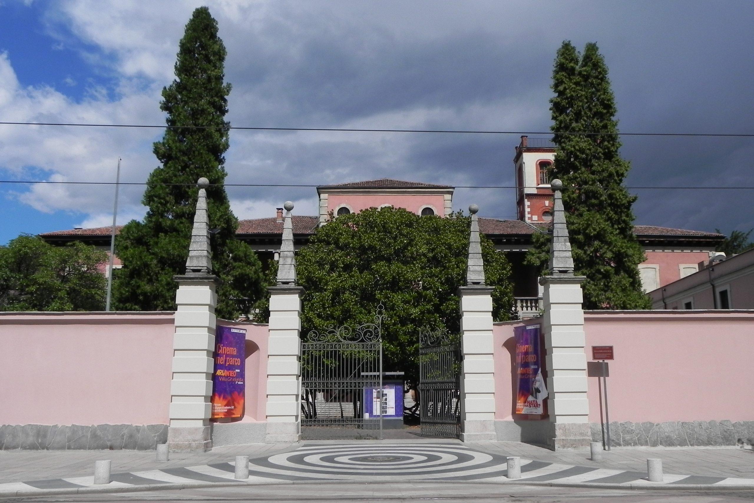 Torna il cinema all'aperto in Villa Ghirlanda. Le proiezioni in agosto